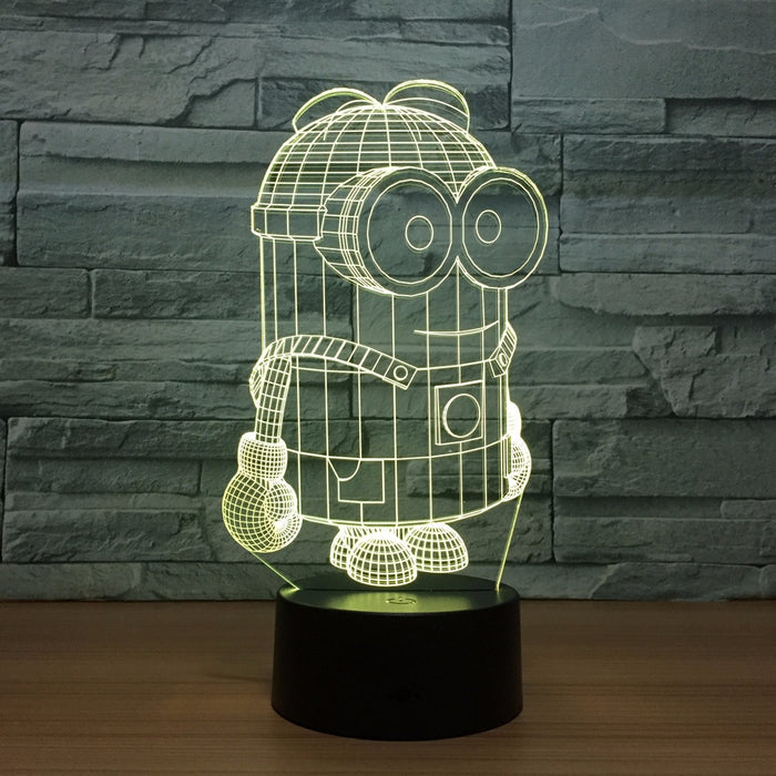 Minions 3D illusion Lamp