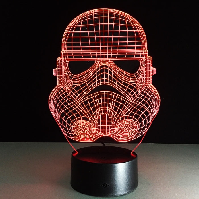 Troopers Star Wars Night Light 3D LED illusion Lamp