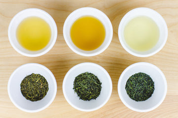 Common Types of Japanese Green Tea