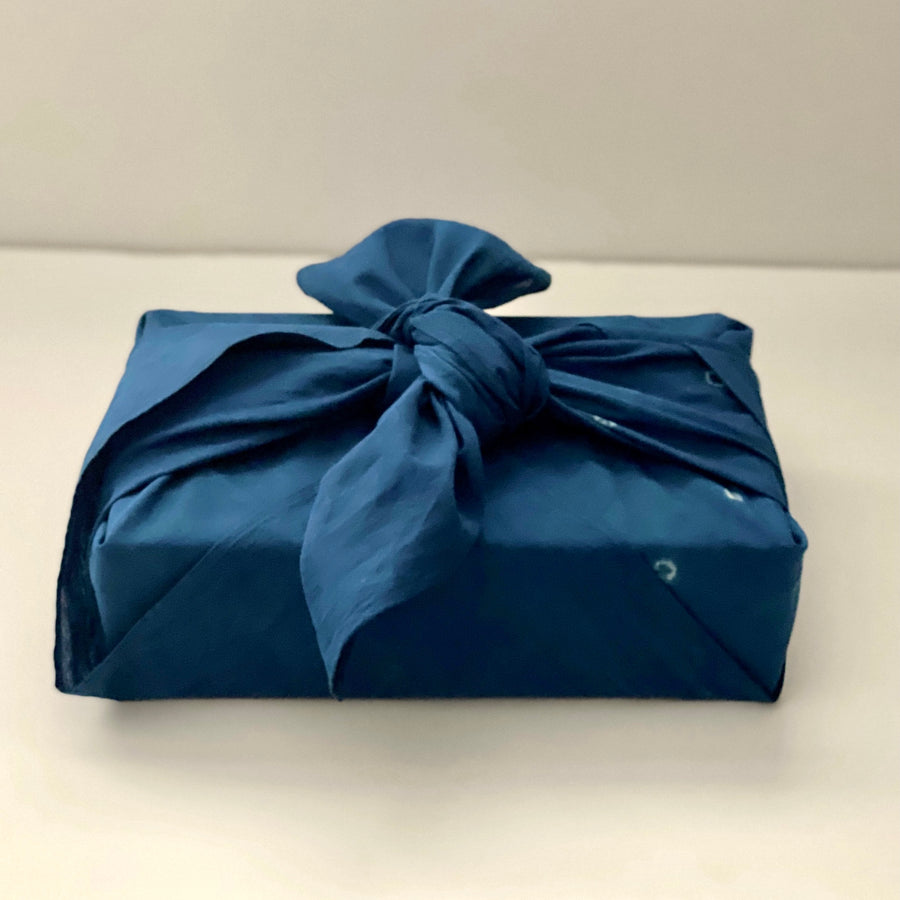 Hand Dyed Furoshiki Cloth Gift Wrap - Southern Record Tea