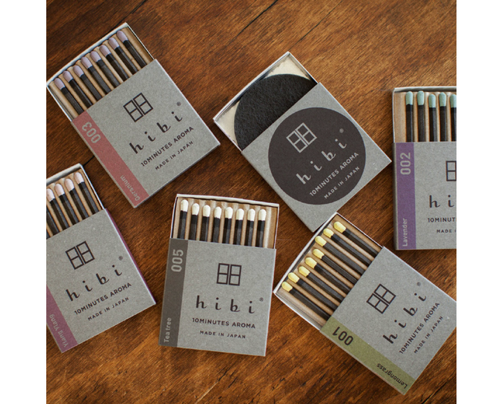 Hibi Incense Matches - Southern Record Tea