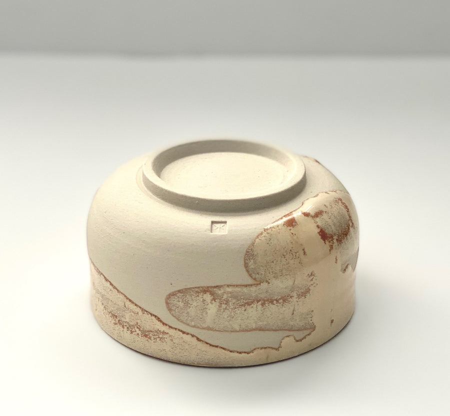 Cream Chawan Matcha Bowl, Karina Klages - Southern Record Tea