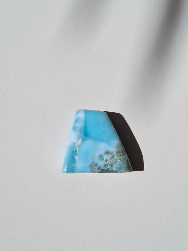 larimar polished slab - dominican republic