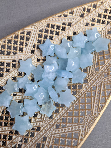 aquamarine star carvings