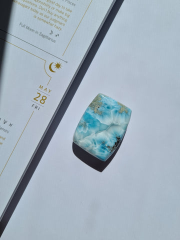 larimar polished slab