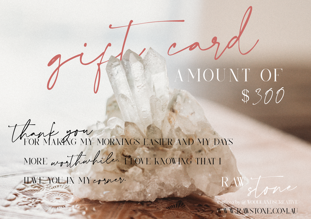 raw stone gift card