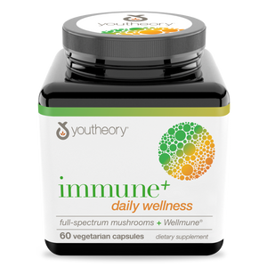Immune Daily Wellness 60 Capsules Bottle Front Side