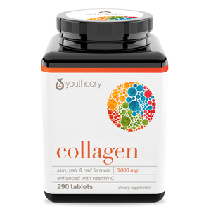 Collagen 290 Tablets Bottle Front View