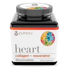 Load image into Gallery viewer, Heart Collagen 150 Tablets Bottle Front Side