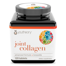 Load image into Gallery viewer, Joint Collagen 120 Tablets Bottle Front Side