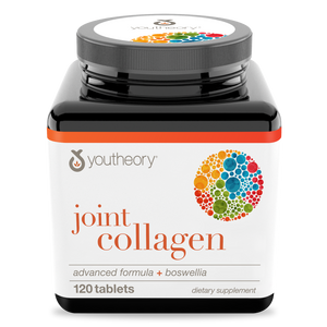 Joint Collagen 120 Tablets Bottle Front Side