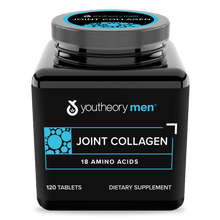Load image into Gallery viewer, Mens Joint Collagen 120 Tablets Bottle Front Side