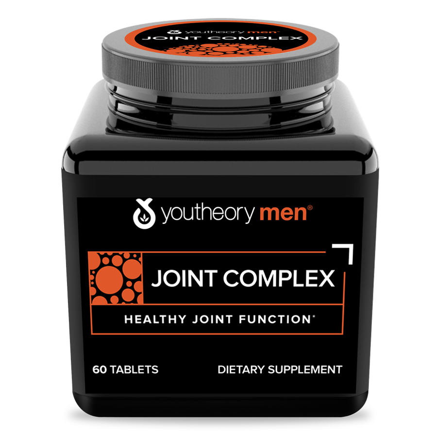 Mens Joint Complex 60 Tablets Bottle Front Side