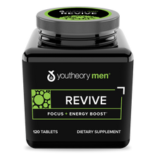 Load image into Gallery viewer, Mens revive 120 Tablets Bottle Front Side