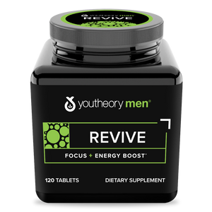 Mens revive 120 Tablets Bottle Front Side