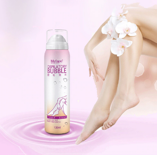 Bubble Foam Hair Removal