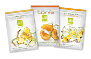 ALO Snacks Three flavors