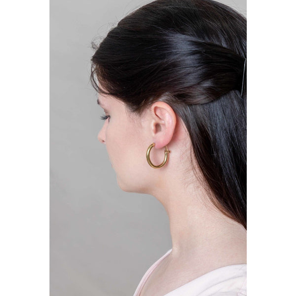 Simply Golden Hoop Earrings
