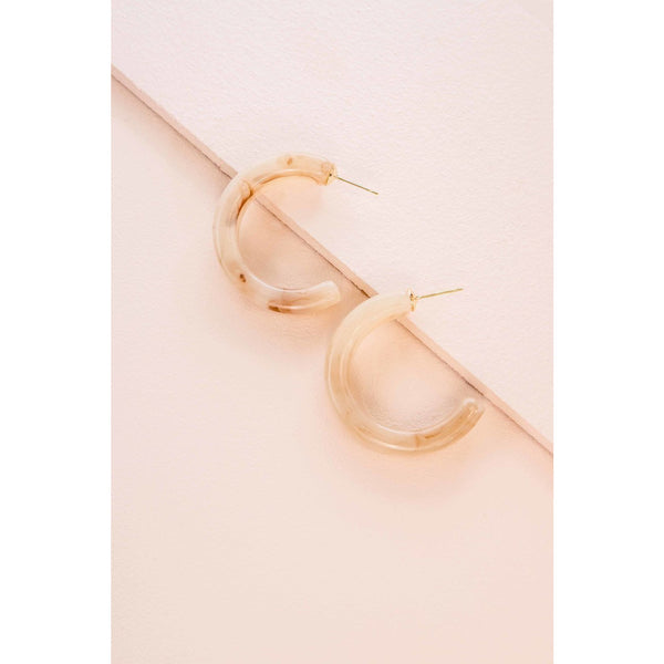 Small Savvy Hoop Earrings