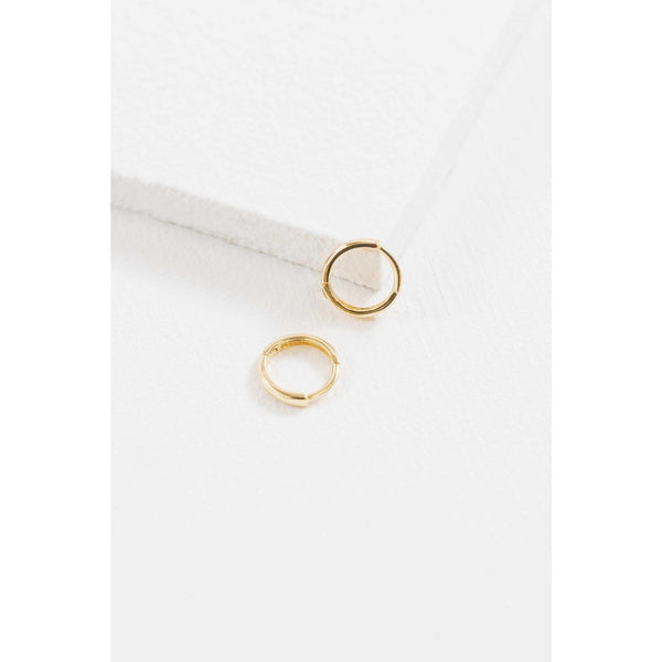 Dainty Gold Hoop Earrings