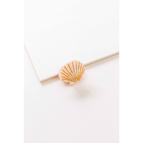 Seaside Shell Hair Clip