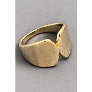 Solid Metallic Top Connect Ring - Bestowed Shop