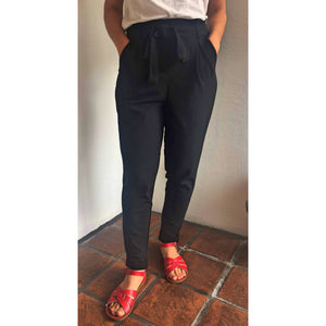 Tie Front Trousers - Bestowed Shop