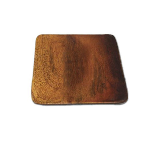 Ombre Mango Wood Small Square Plate - Bestowed Shop