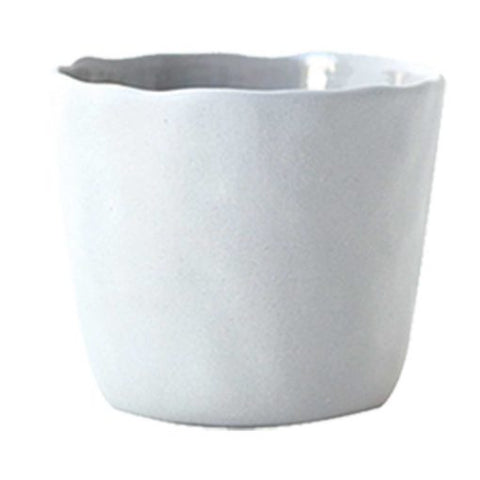 Large Stoneware Tumbler in White - Bestowed Shop