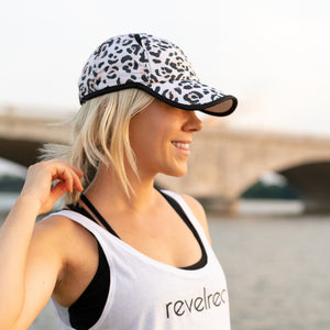 Women's painted leopard cap baseball hat for running