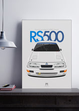 1987 Ford Sierra Cosworth RS500 Group A - poster print