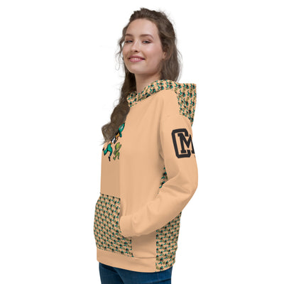Ladies Chase Money Hoodie- Allover Print