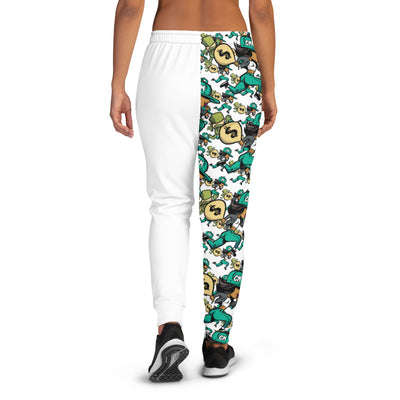 Chase Money Women's Allover Print  Logo Joggers