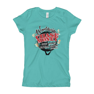 "Chase Money Girl's ""Worldwide"" Tee"