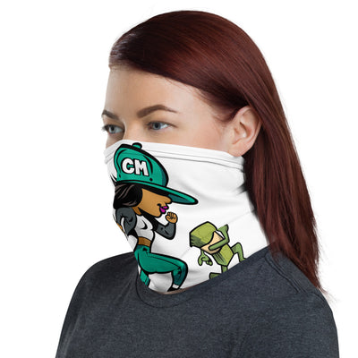 "Chase Money ""Running Girl"" Neck Gaiter"