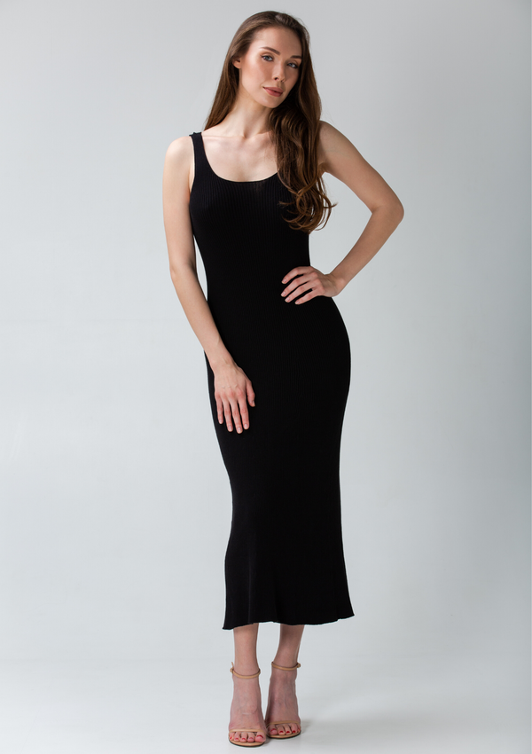 DEAUVILLE dress - Black