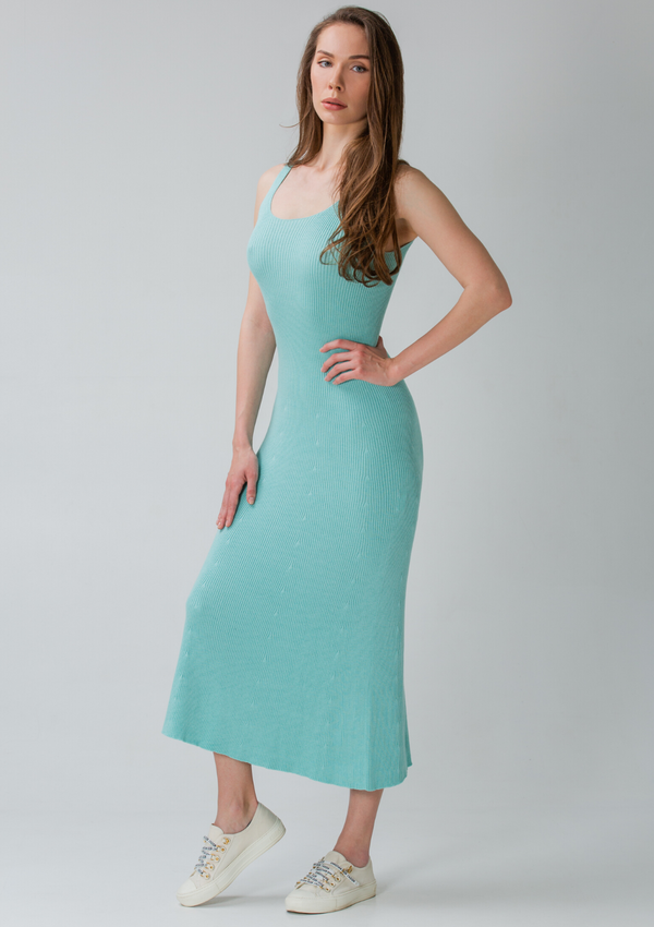 DEAUVILLE dress - Tiffany