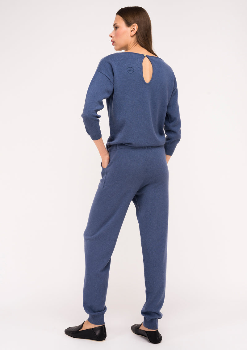 VICTORIA jumpsuit – Blue