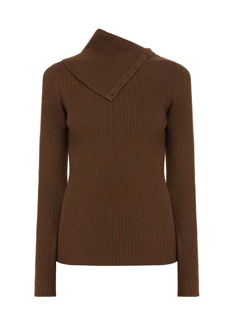 AUDREY jumper – Chocolate