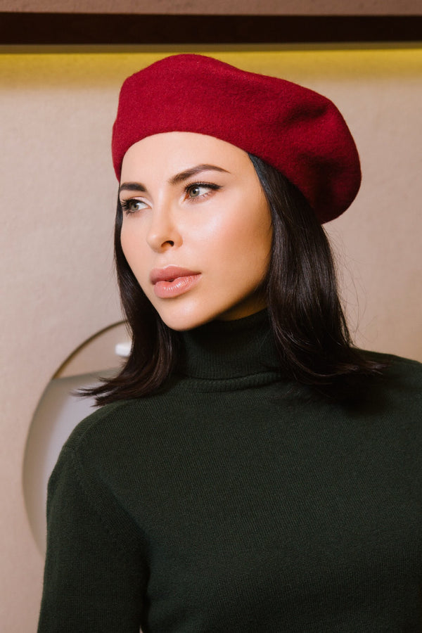 FRENCH BERET hat - MULBERRY
