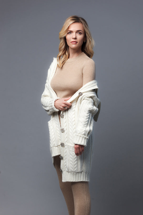 FAVORI knitted cardigan