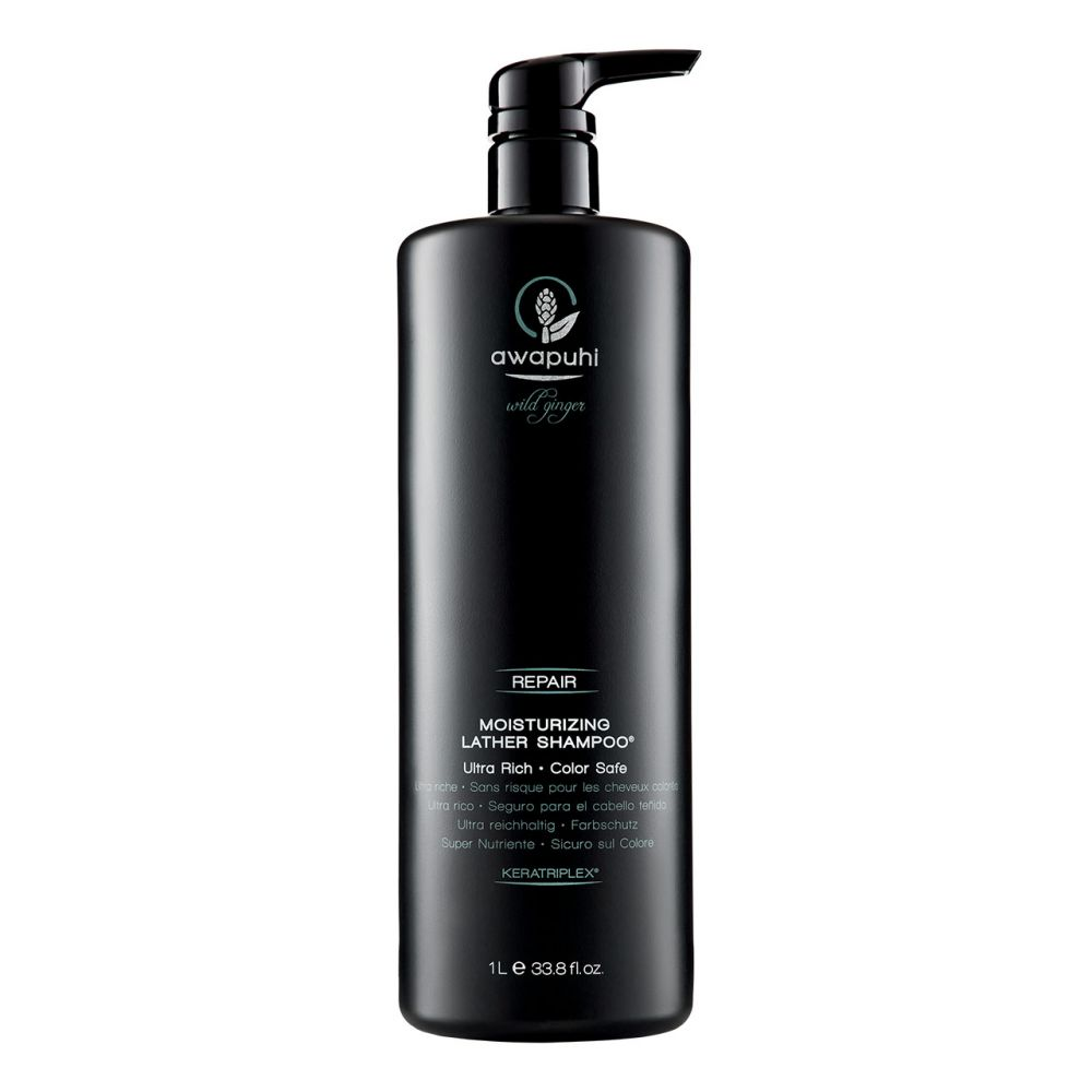 Awapuhi Wild Ginger // Repair // Moisturizing Lather Shampoo