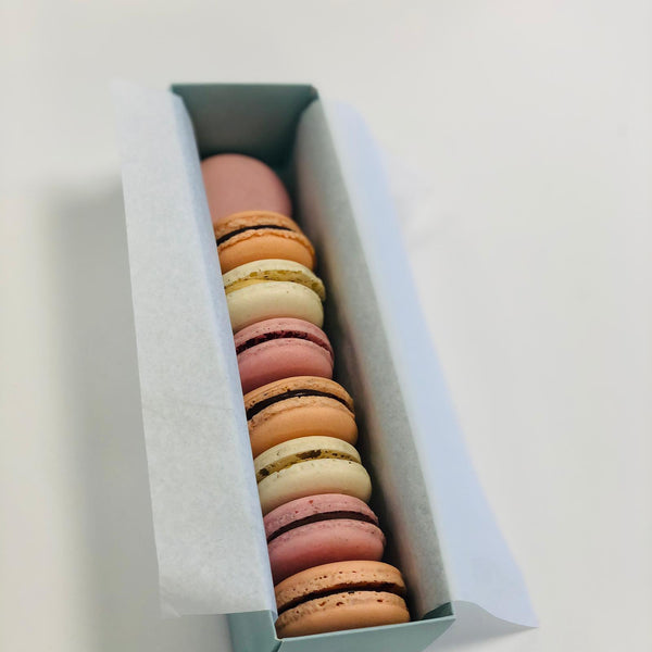 Gift Box of 8 Vegan Macarons