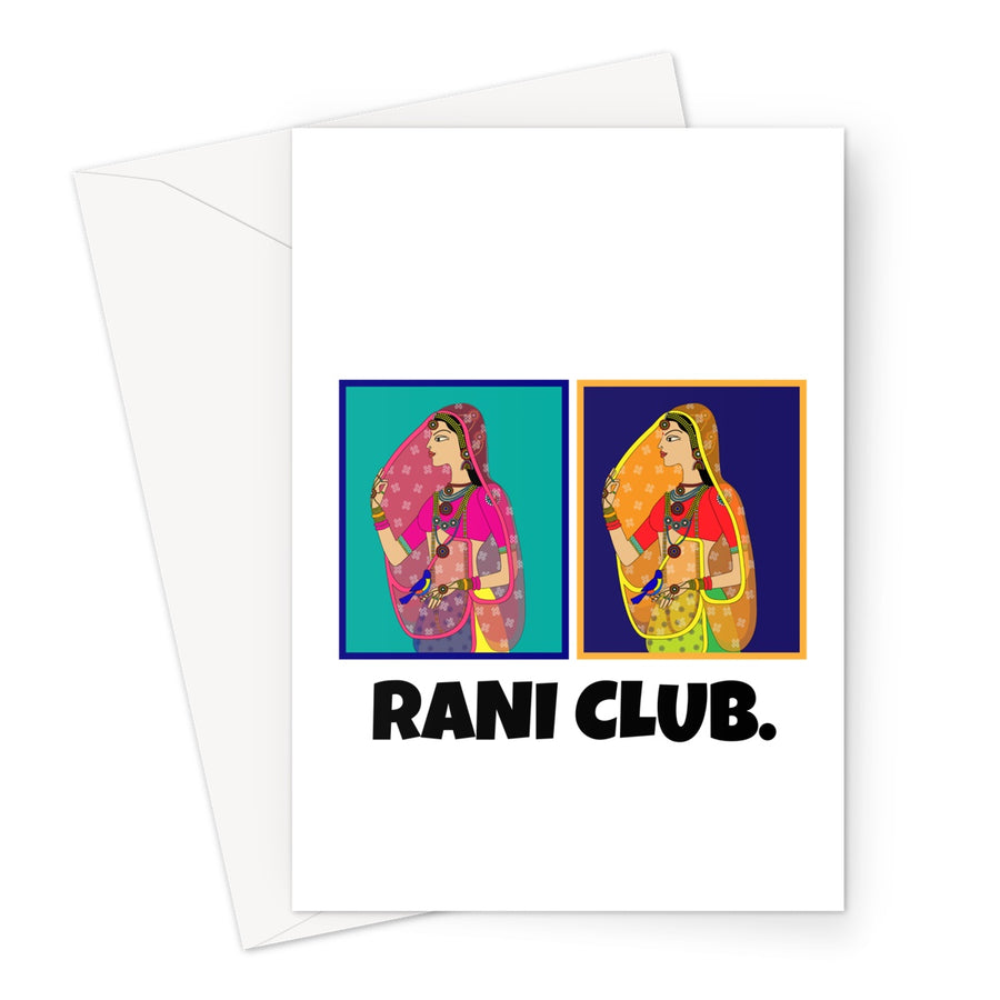 RANI CLUB Greeting Card