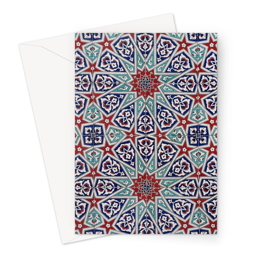ISLAMIC PATTERN CARD Greeting Card