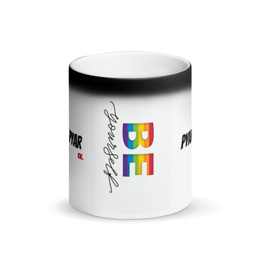 Pyar is Pyar Matte Black Magic Mug