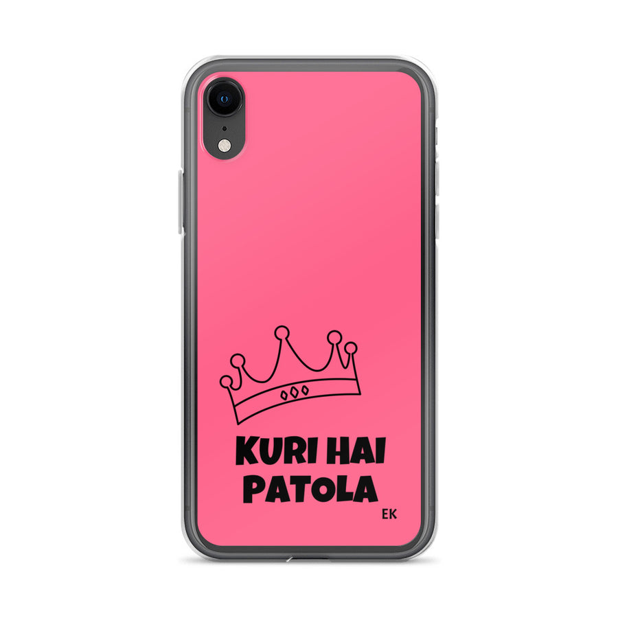 KURI HAI PATOLA iPhone Case