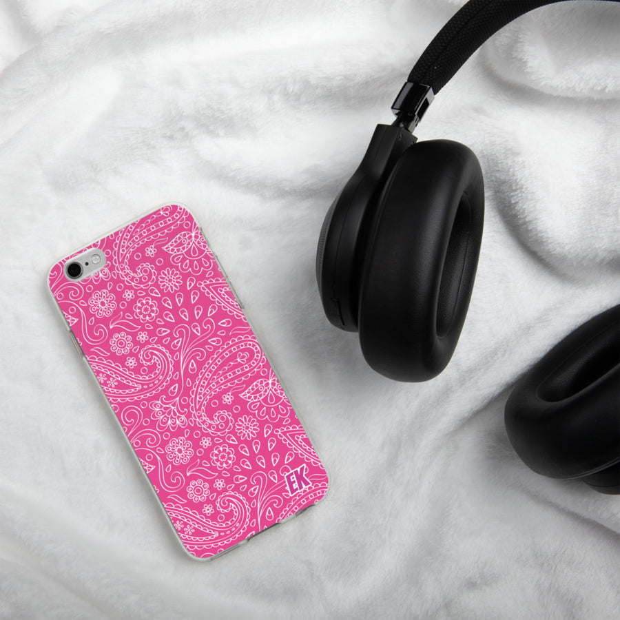 PINK EK- iPhone Case