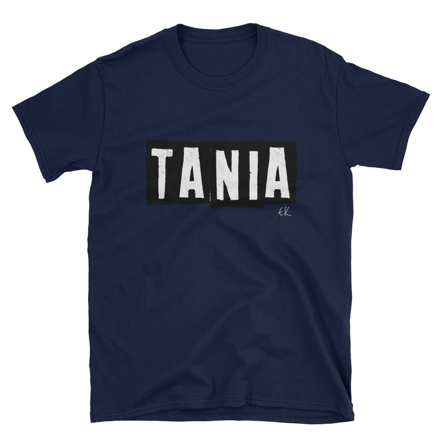 TANIA Short-Sleeve Unisex T-Shirt