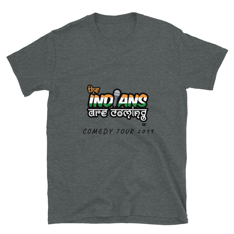 The IndianS are coming - DC Short-Sleeve Unisex T-Shirt